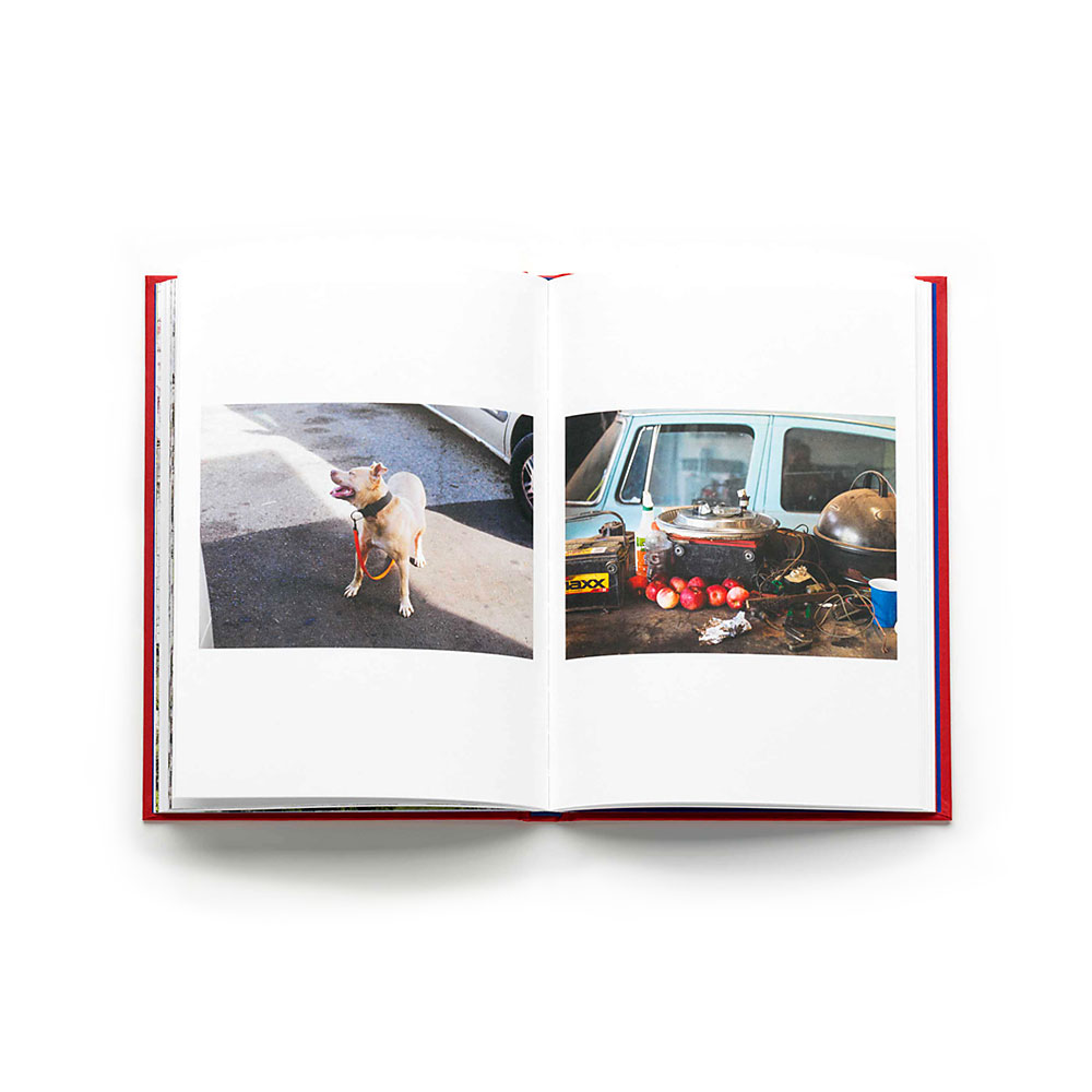"Working on Philippe Chancel ""Drive Thru Flint"" L'Artiere Publishing"